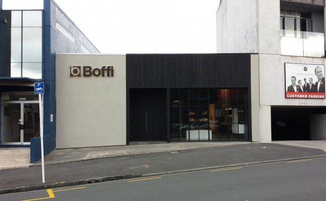 Steelguard were pleased to have supplied the 24 pane steel bi-fold door for the new Boffi showroom in Boston Road Auckland. & Architectural u0026 security steel windows u0026 steel doors | Title ...